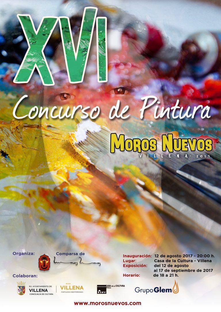 Inauguración Exposición XVI Concurso de Pintura Moros Nuevos