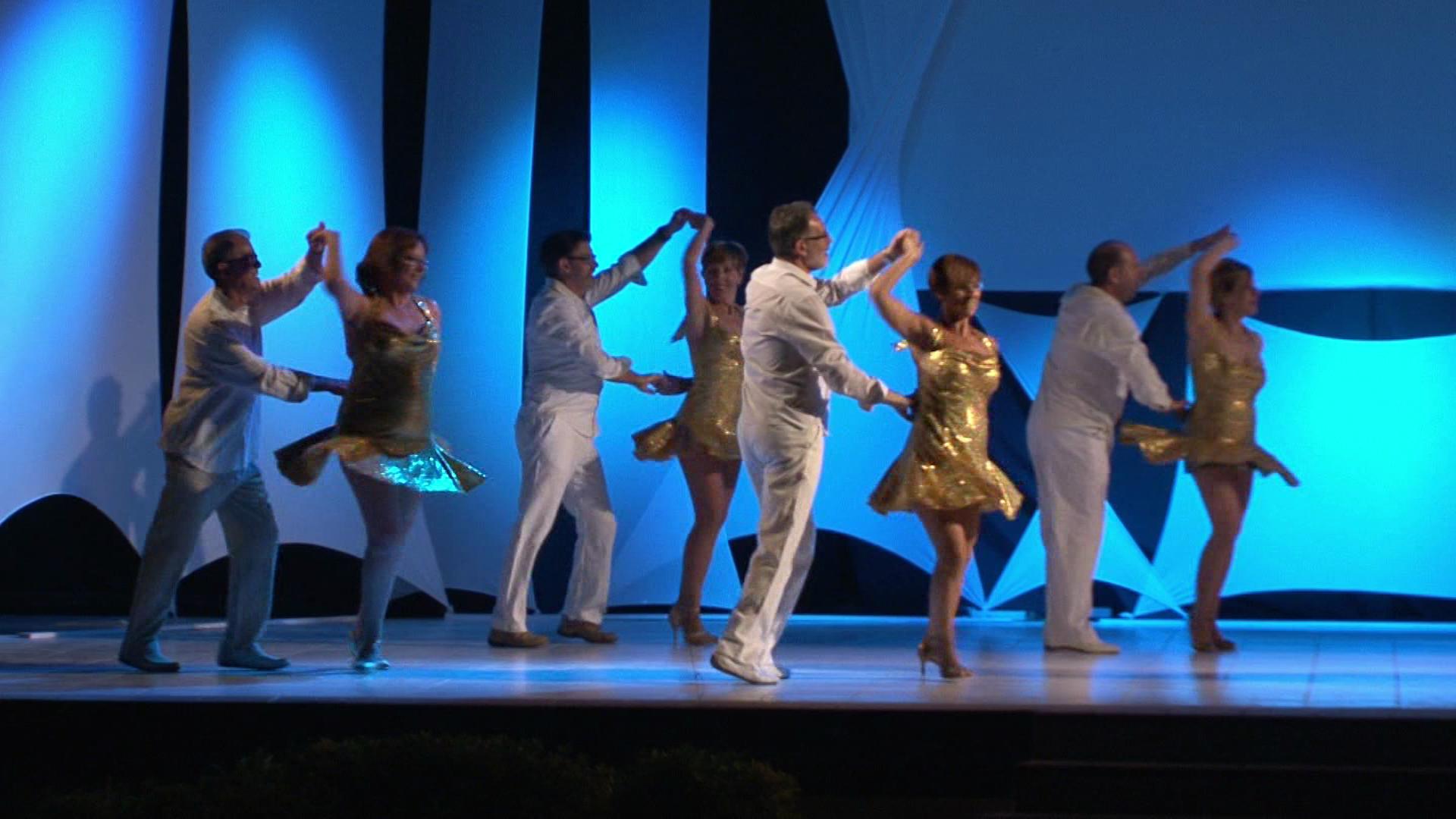 VIII Gala de Bailes de Salón en LA CÁBILA